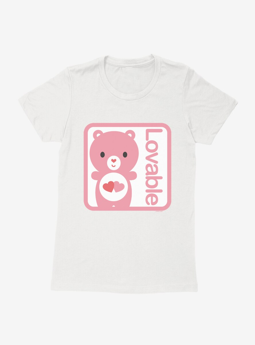 Care Bears Cartoon Love A Lot Lovable Womens T-Shirt