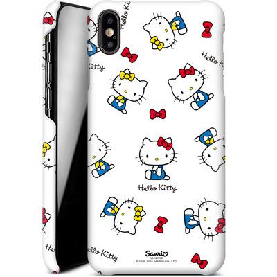 Apple iPhone XS Max Smartphone Huelle - Hello Kitty and Mimmy Pattern von Hello Kitty