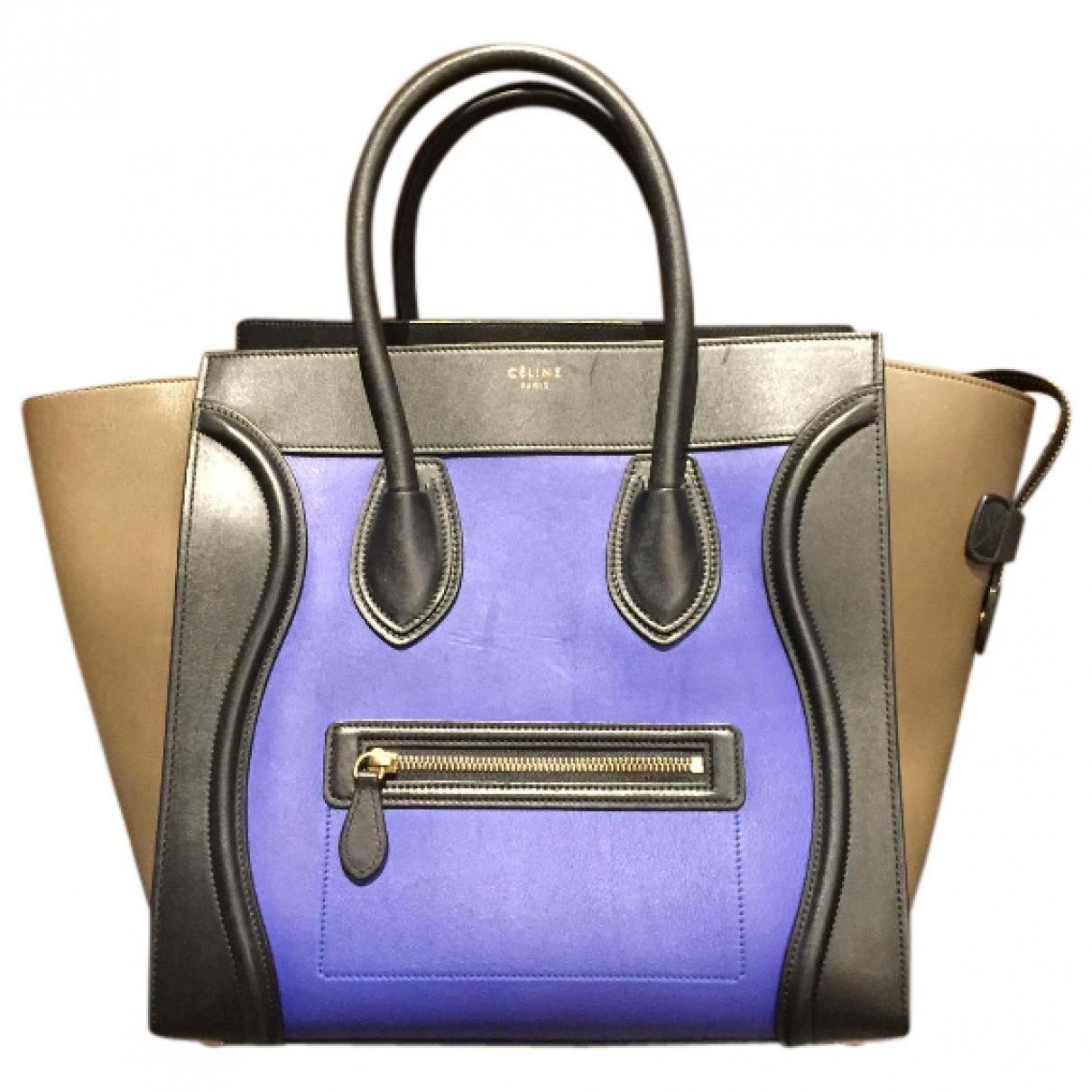 Celine \N Multicolour Leather handbag for Women \N