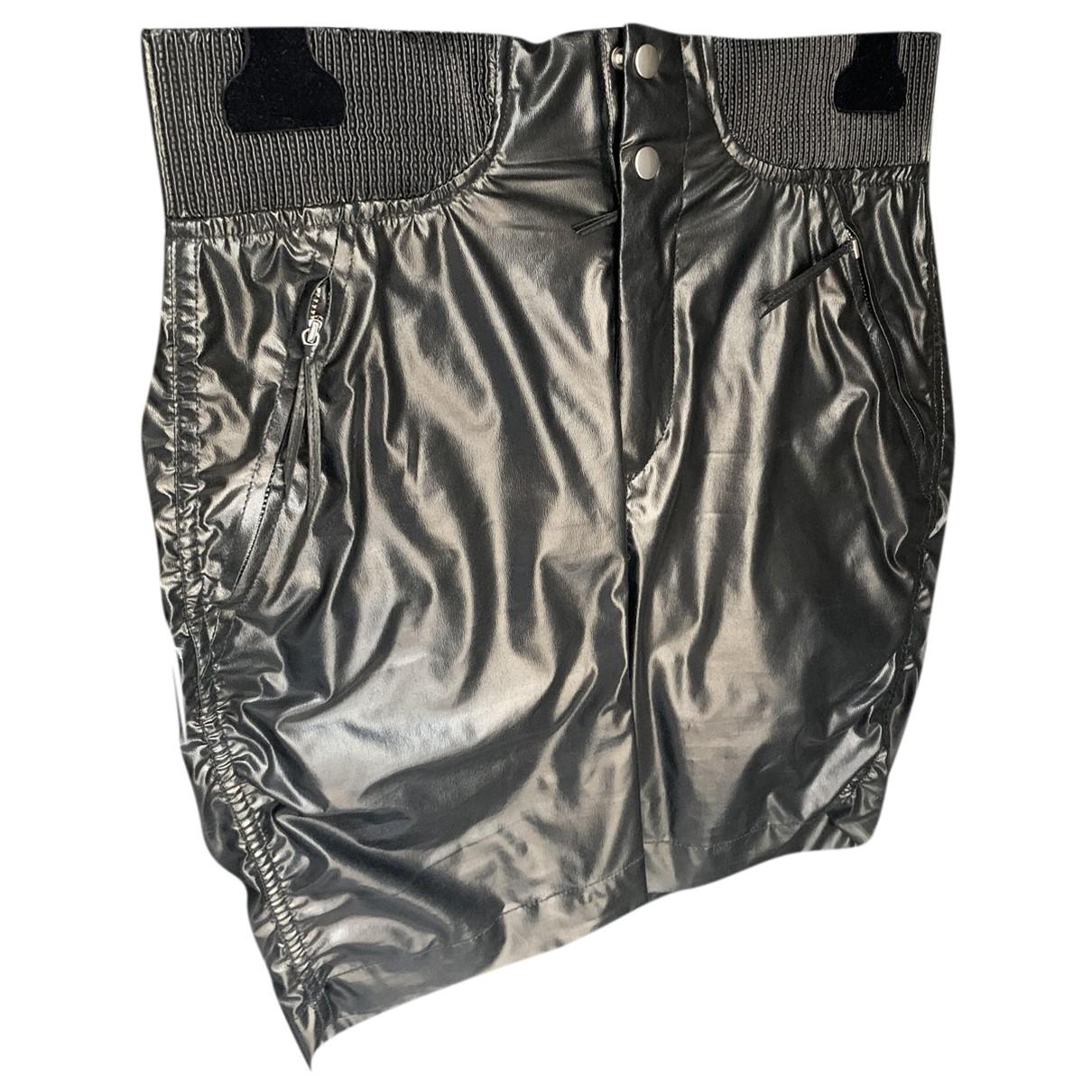 Isabel Marant N Black Silk skirt for Women 38 FR