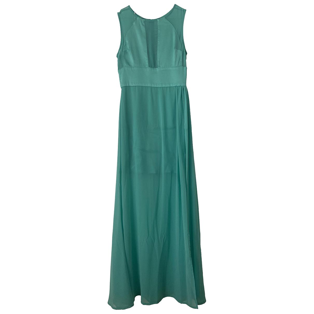 Flavio Castellani \N Kleid in  Gruen Polyester