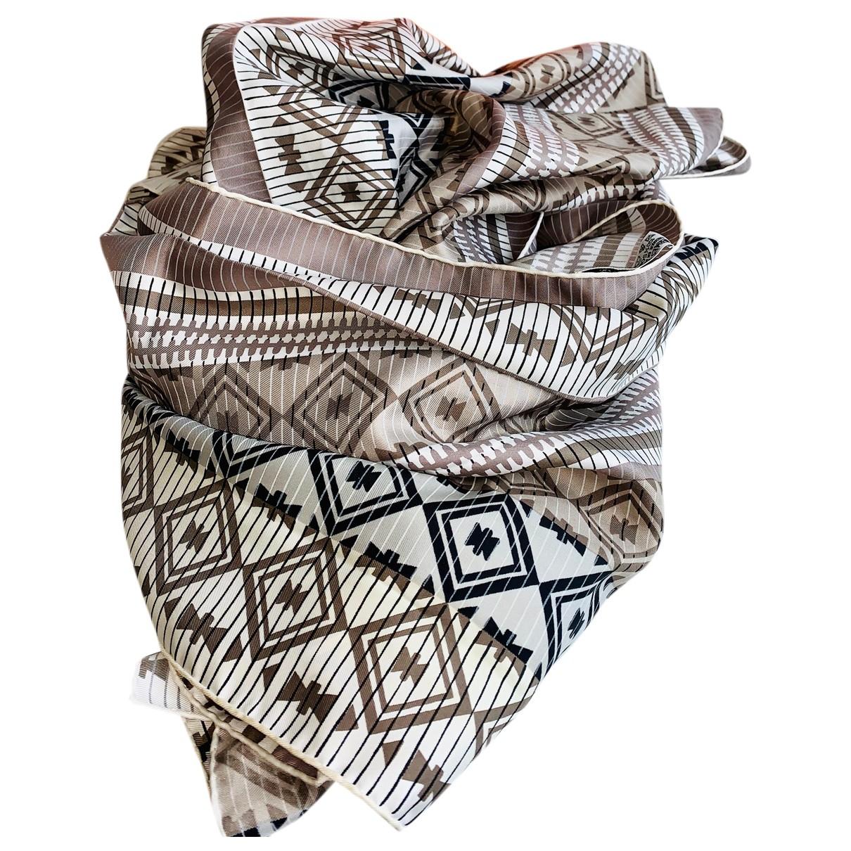 Hermes - Foulard Carre Geant silk 140 pour femme en soie - multicolore