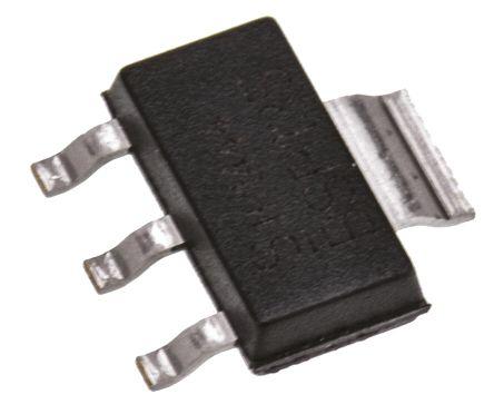 Infineon N-Channel MOSFET, 120 mA, 600 V Depletion, 3 + Tab-Pin SOT-223  BSP135H6327XTSA1