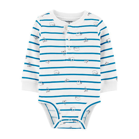 Carter's Baby Boys Bodysuit, 9 Months , White