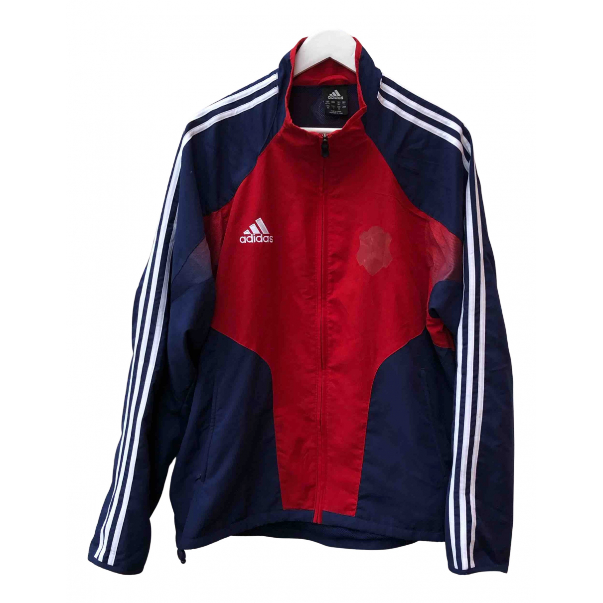 Adidas N Red Cotton jacket  for Men L International