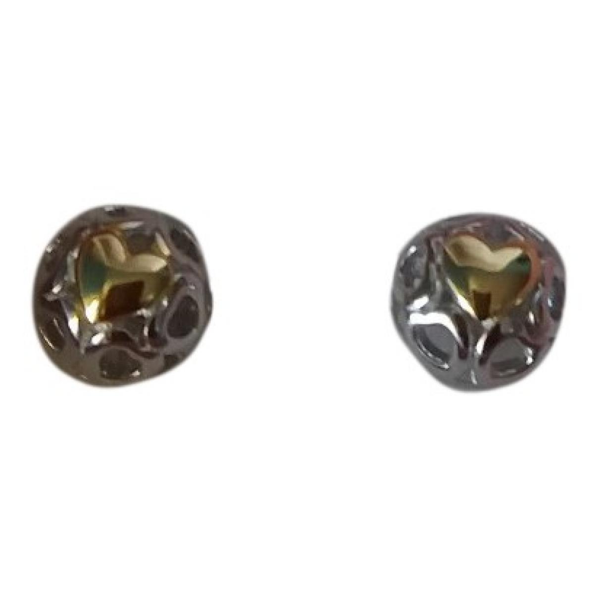 Pandora \N OhrRing in  Silber / Gold Silber
