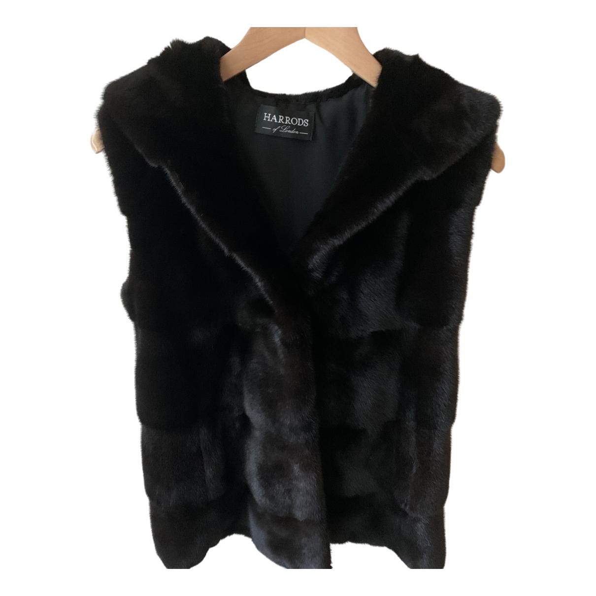 Harrods - Manteau   pour femme en vison - marron