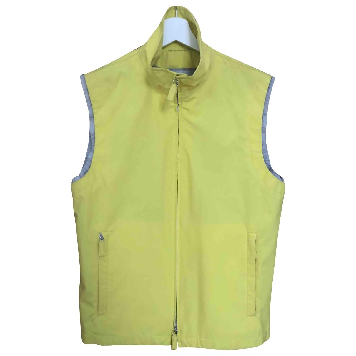 Prada \N Yellow jacket  for Men 48 IT