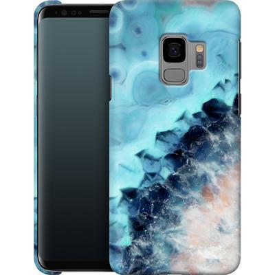 Samsung Galaxy S9 Smartphone Huelle - Ocean Agate von Emanuela Carratoni