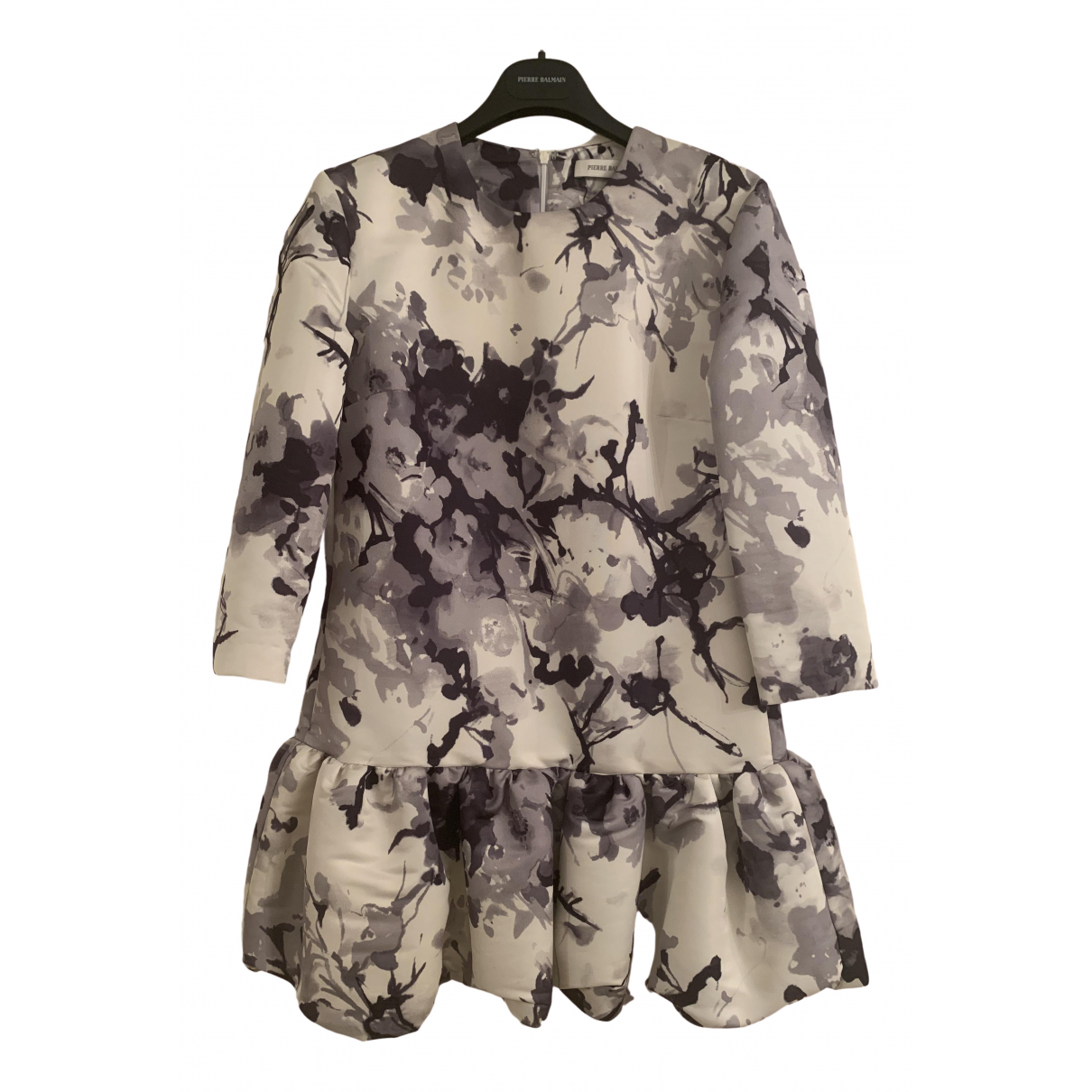 Pierre Balmain \N Kleid in  Grau Polyester