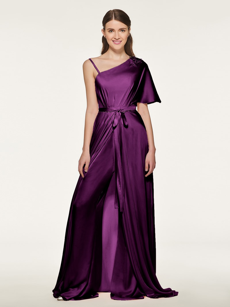 Ericdress Sashes Appliques Beading Bridesmaid Jumpsuits