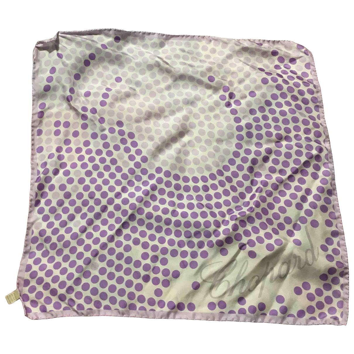 Chopard \N Multicolour Silk scarf for Women \N