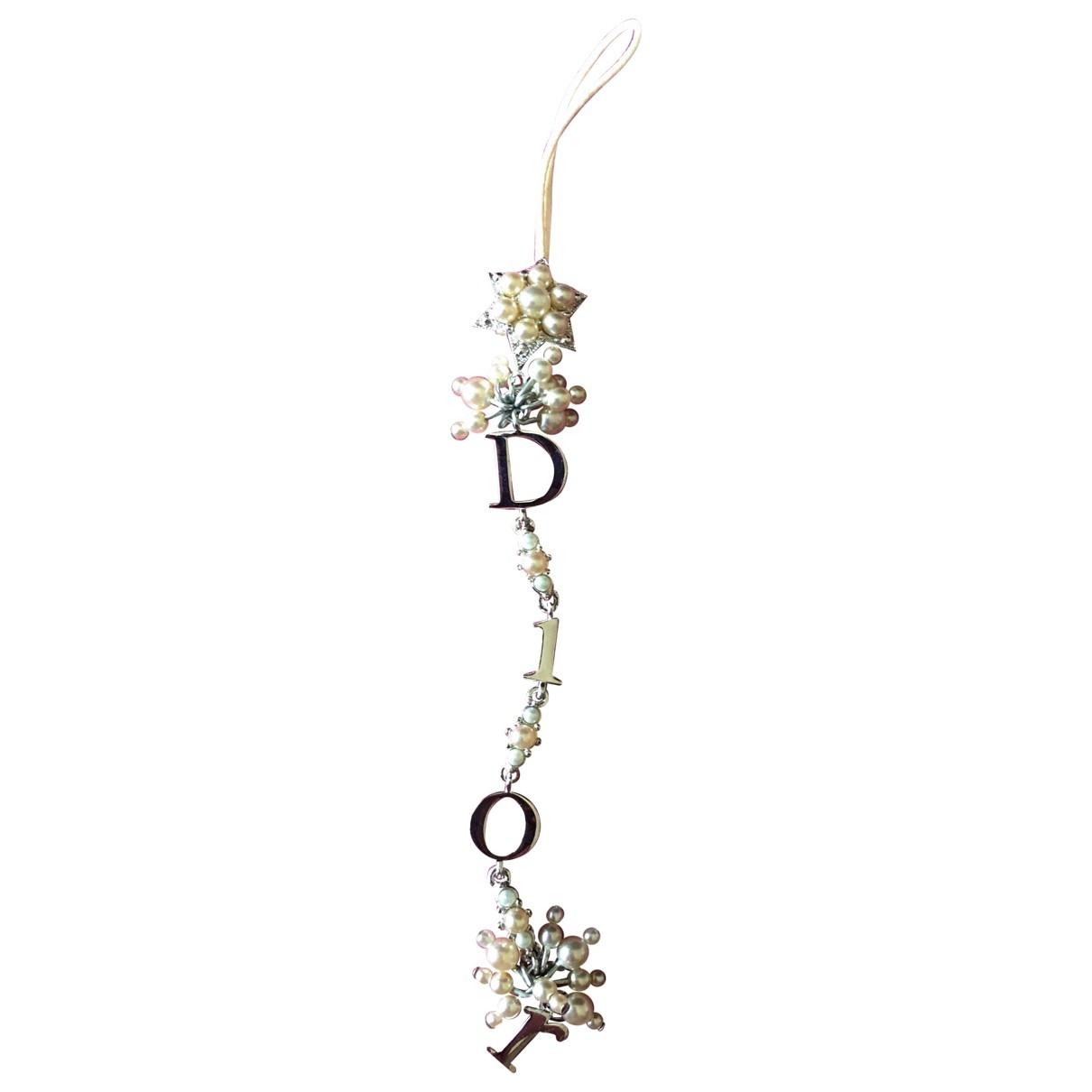 Dior - Bijoux de portable   pour femme en cristal - argente