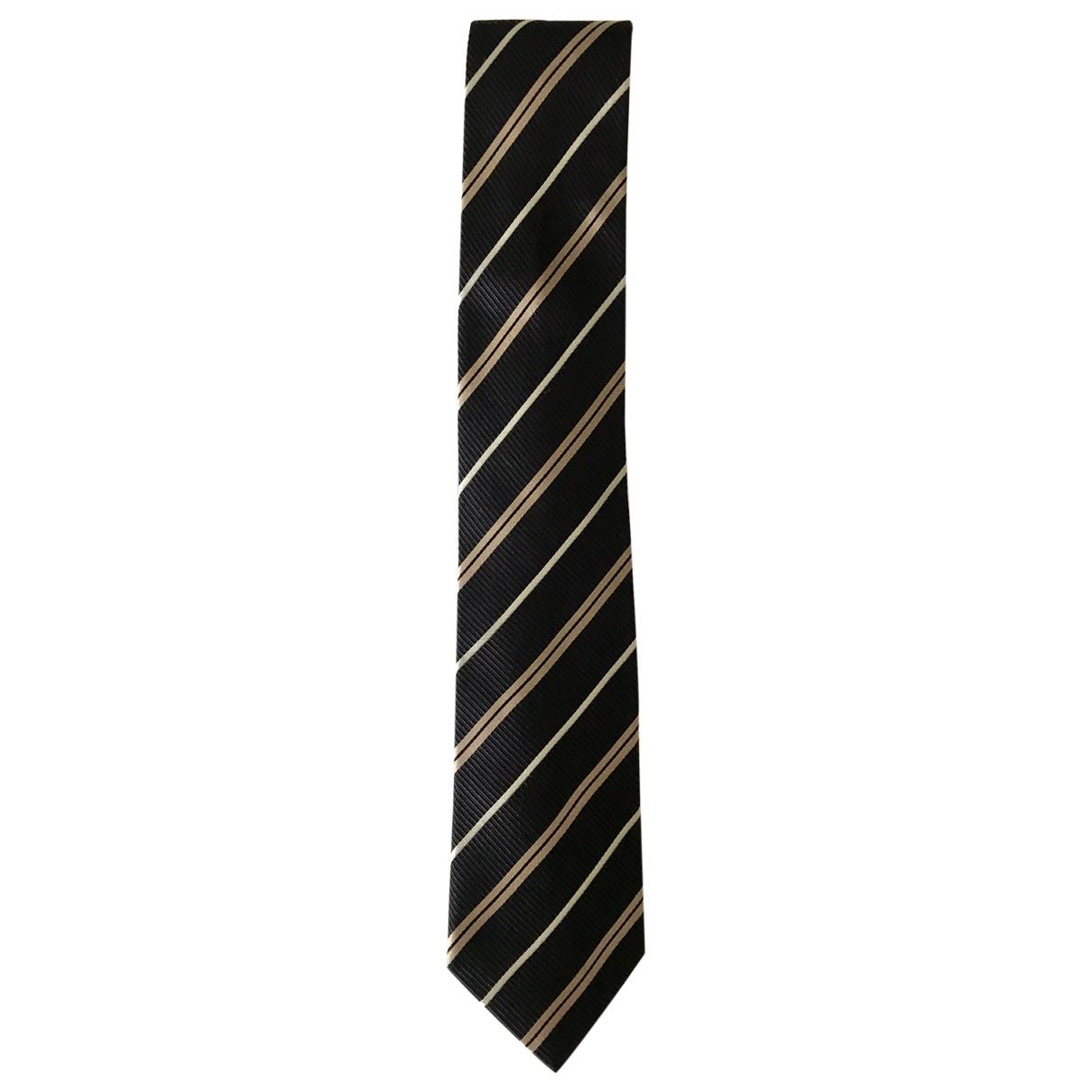 Prada - Cravates   pour homme en soie - noir