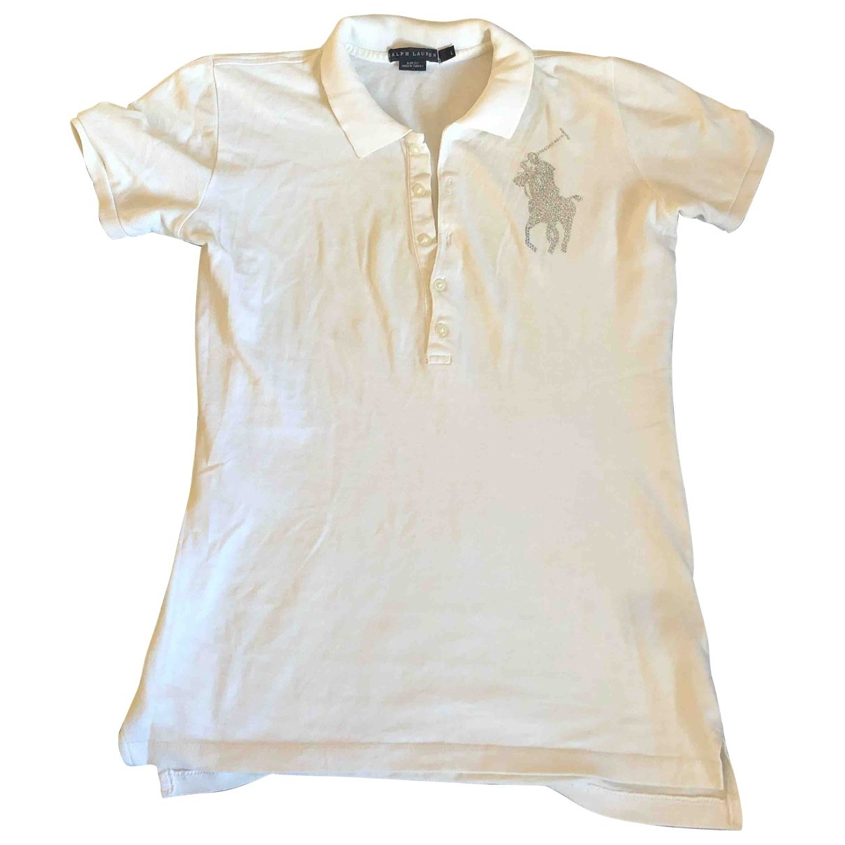 Polo Ralph Lauren \N Top in  Weiss Baumwolle