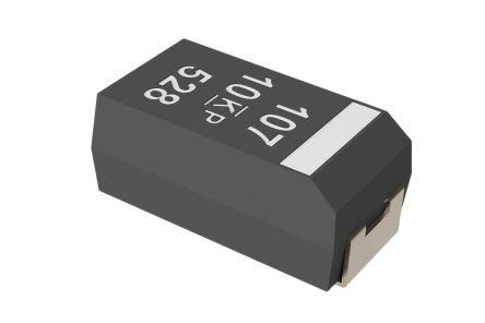 KEMET Tantalum Capacitor 330μF 6.3V dc Polymer Solid ±20% Tolerance , T598 (5)