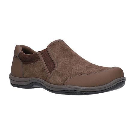 Easy Street Womens Infinity Slip-On Shoe, 9 Wide, Brown