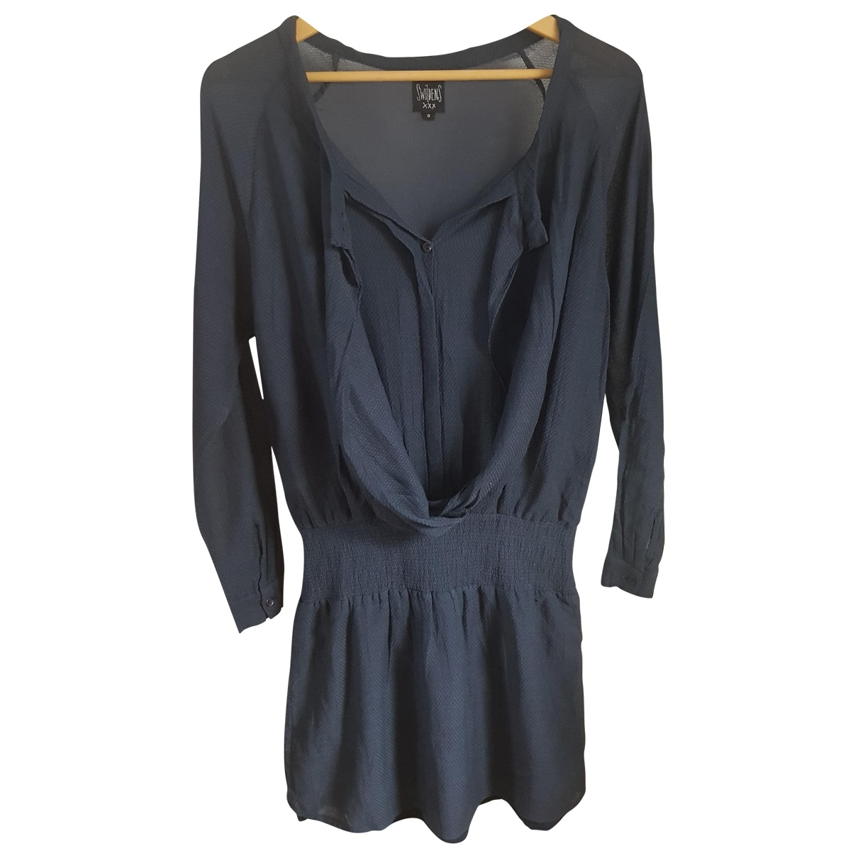 Swildens \N Grey Cotton dress for Women 0 0-5