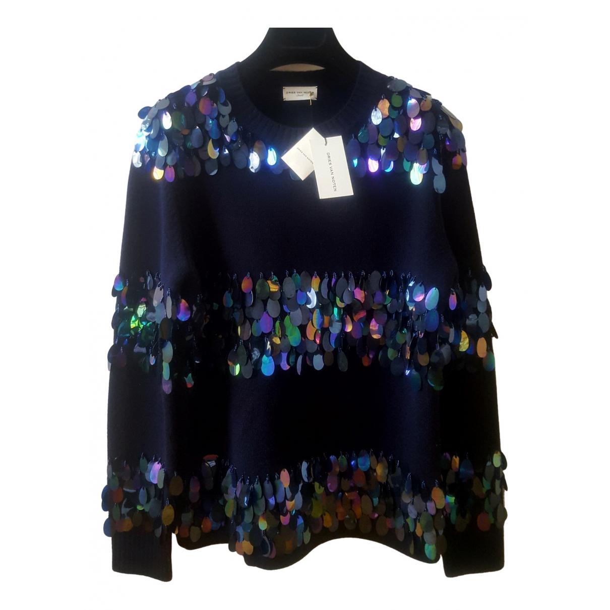 Dries Van Noten \N Blue Wool Knitwear for Women S International