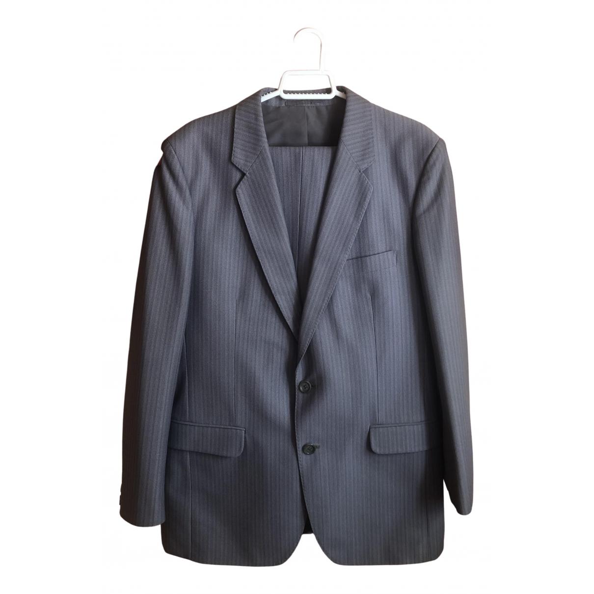 - Costumes   pour homme en coton - gris