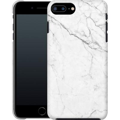 Apple iPhone 7 Plus Smartphone Huelle - White Marble von caseable Designs
