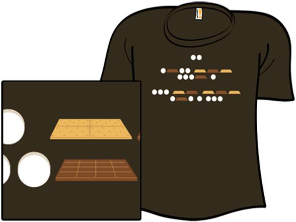S'morse Code T Shirt