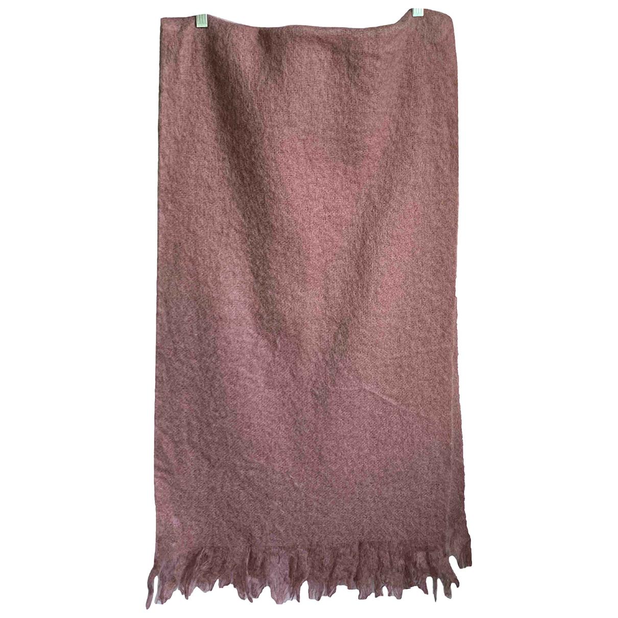 Cos - Foulard   pour femme en laine - rose