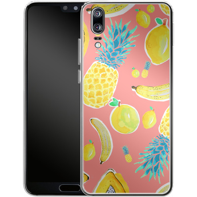 Huawei P20 Silikon Handyhuelle - Fruit Love von Mukta Lata Barua