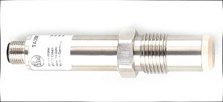 ifm electronic IO-Link 4 wire RTD Sensor, 0°C min +100°C max, 38mm Probe Length x 18mm Probe Diameter