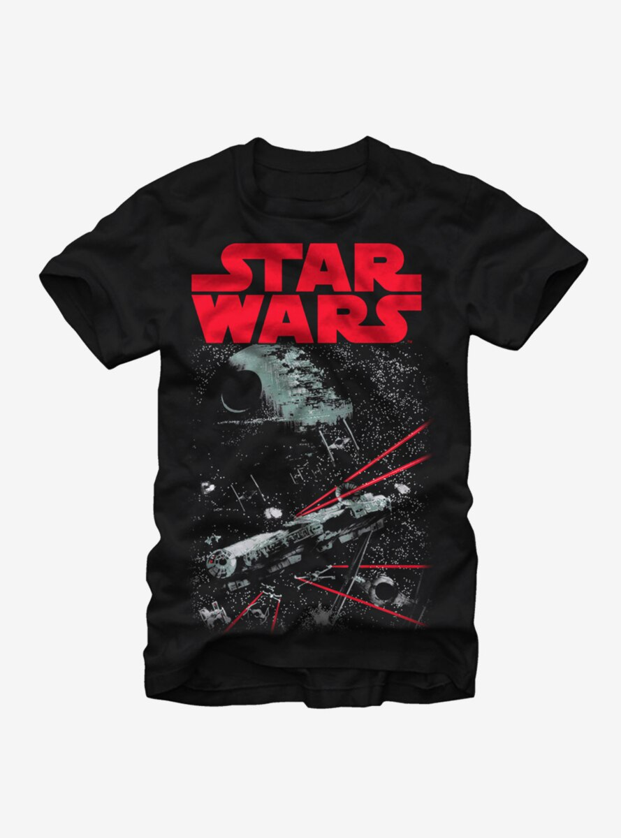 Star Wars Space Fight T-Shirt
