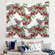 Bird Print Tapestry