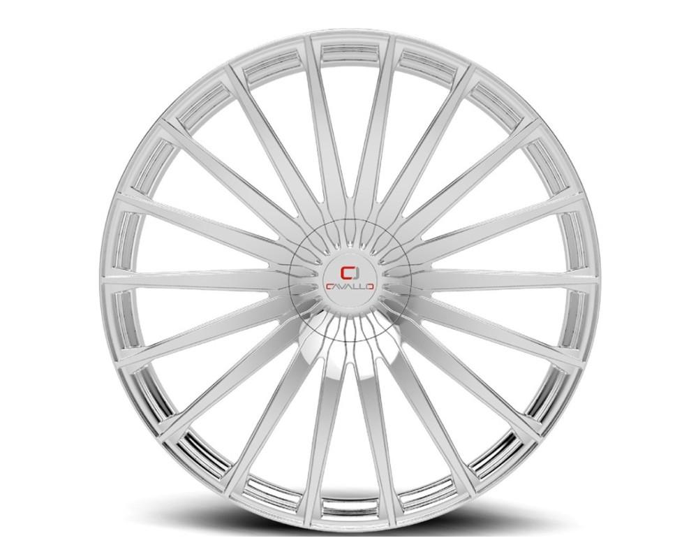 Cavallo CLV-34 Wheel 20x8.5 5x110 5x114.3 35mm Chrome