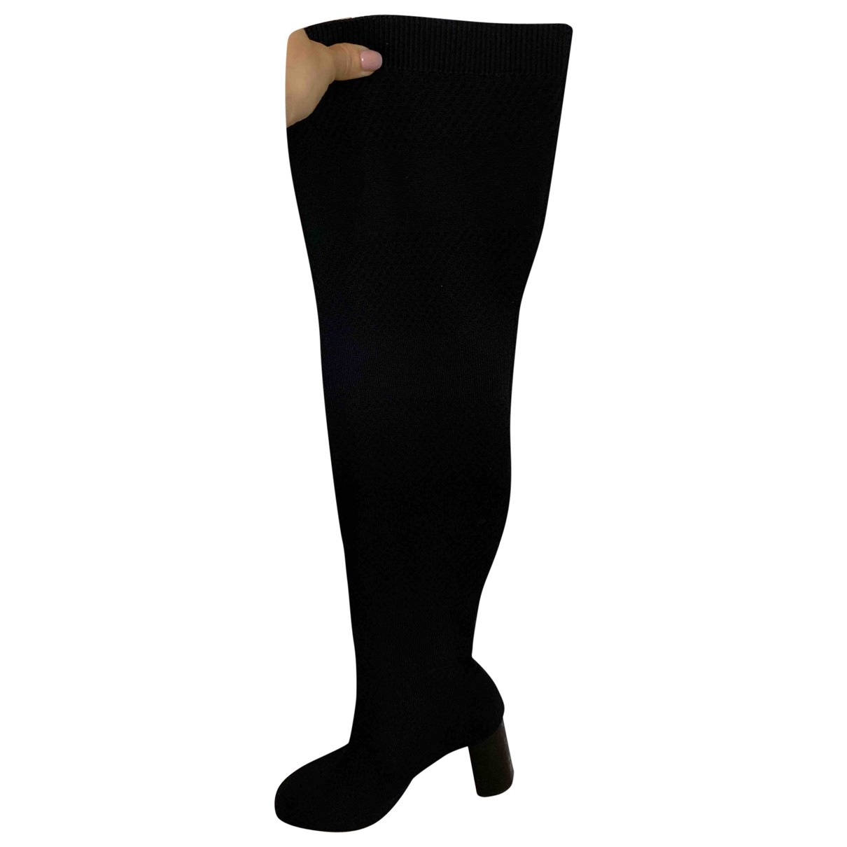 Zara - Escarpins   pour femme en toile - noir