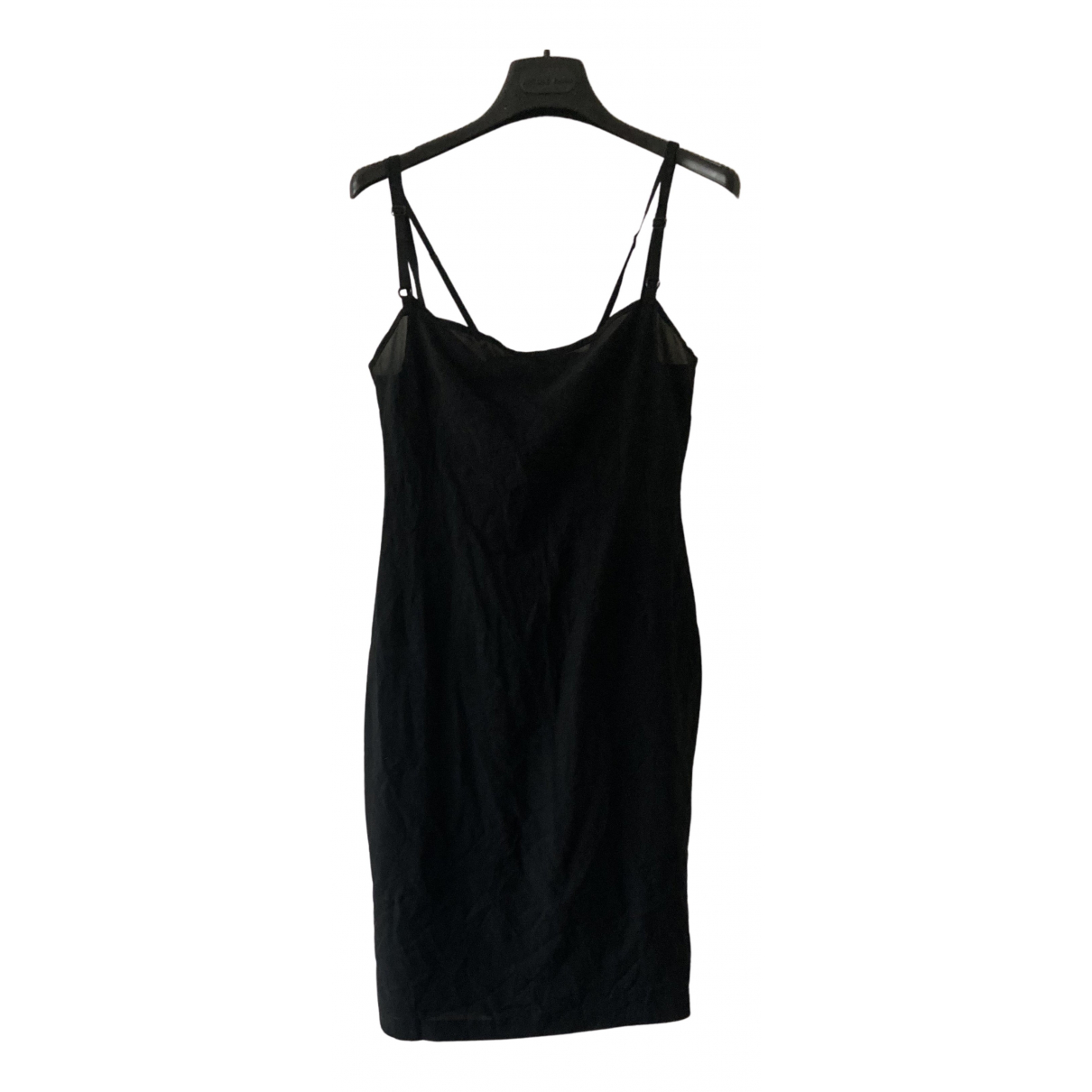 D&g \N Kleid in  Schwarz Seide