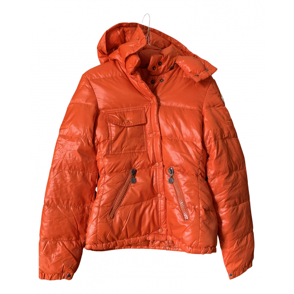 Moncler Classic Orange jacket for Women 0 0-5