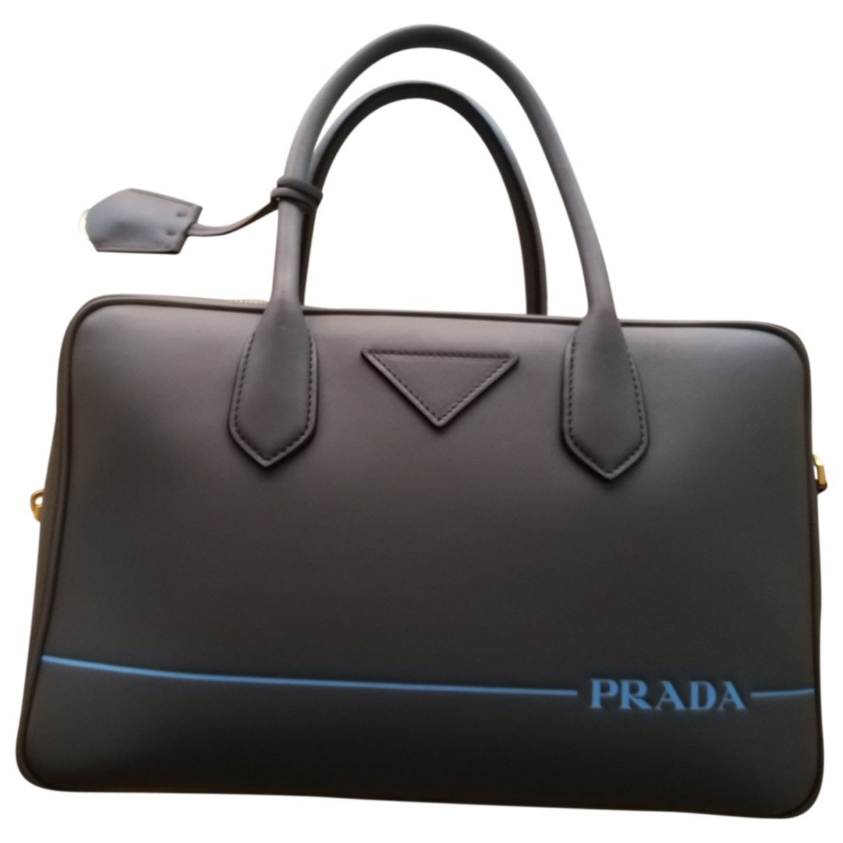 Prada Mirage Grey Leather handbag for Women \N