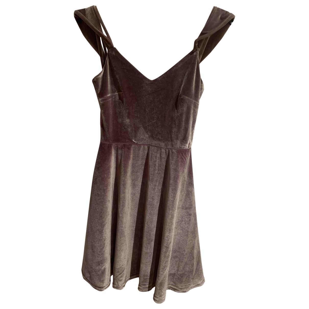 Mini vestido de Terciopelo Non Signe / Unsigned