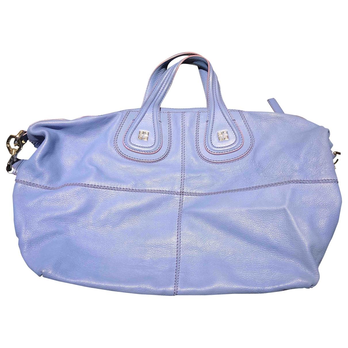 Givenchy Nightingale Blue Leather handbag for Women \N