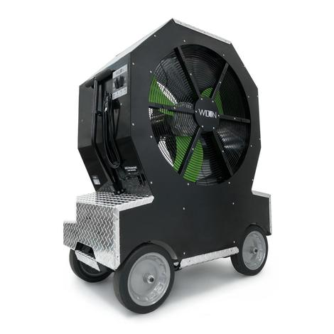 Wilton Cold Front™ 3037 Atomized Cooling Fan