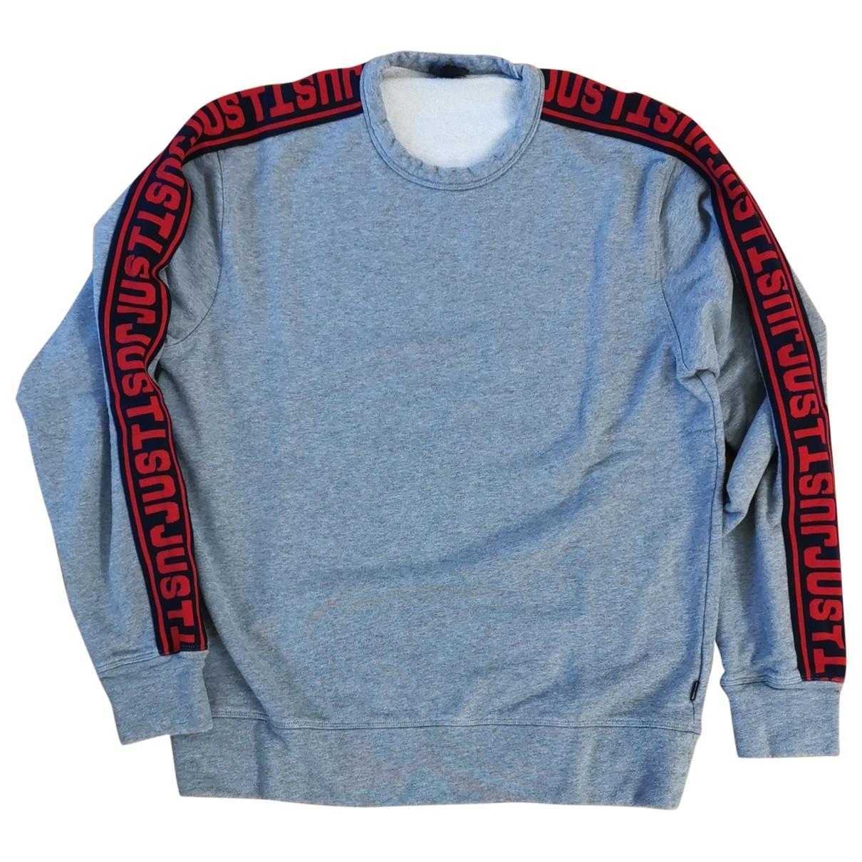 Just Cavalli \N Grey Cotton Knitwear & Sweatshirts for Men M International