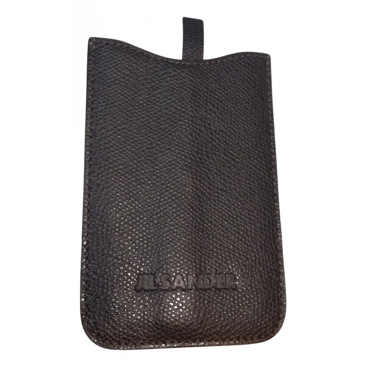 Funda iphone de Cuero Jil Sander