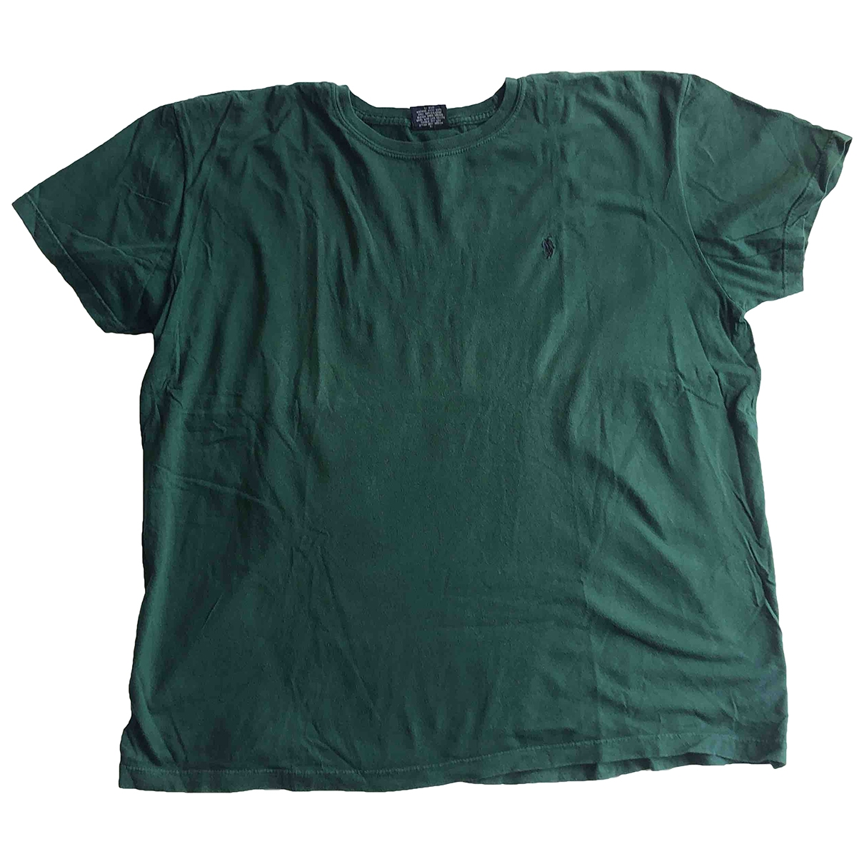 Polo Ralph Lauren \N Green Cotton T-shirts for Men L International