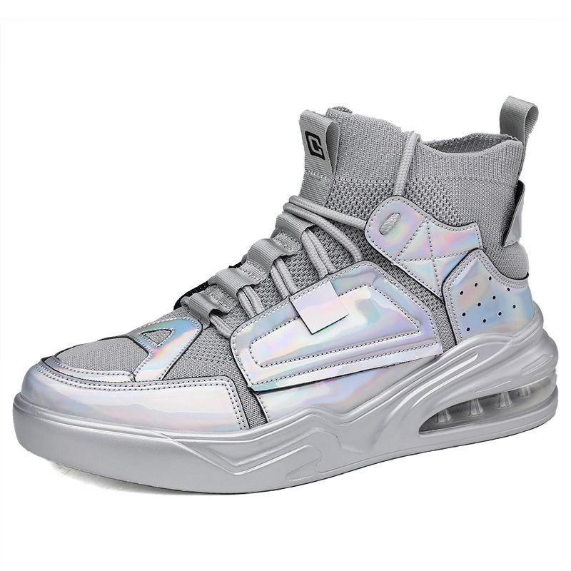 Ericdress Sports Lace-Up Outdoor Mesh Men's Sneakers