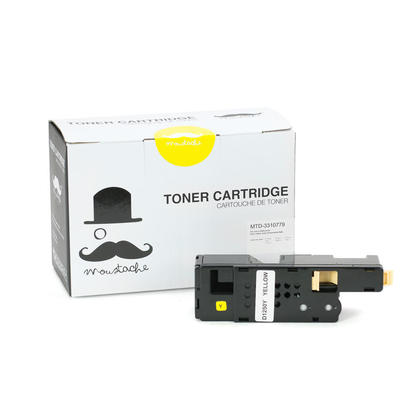 Compatible Dell 331-0779 DG1TR Yellow Toner Cartridge High Yield - Moustache@