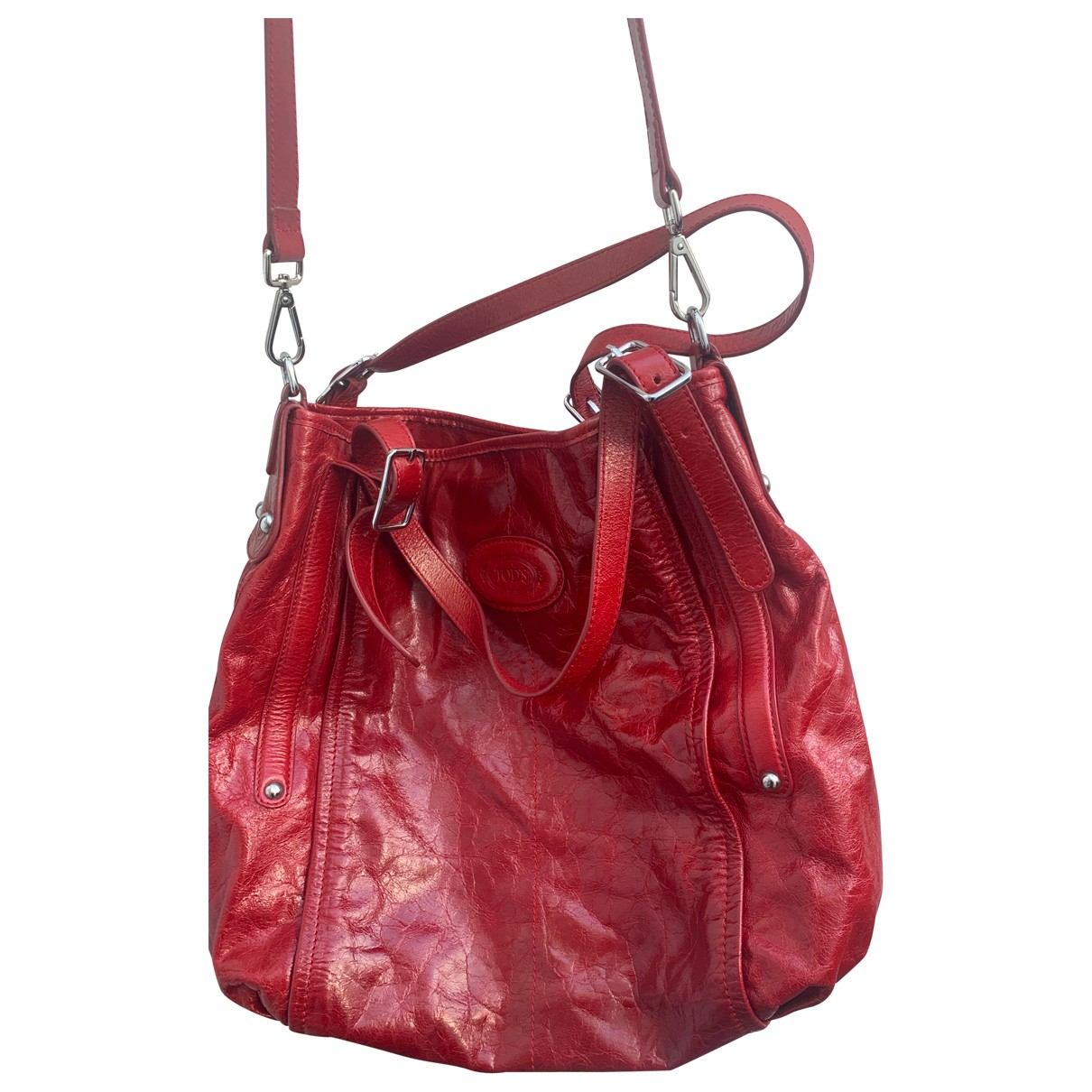 Tod's N Red Leather handbag for Women N