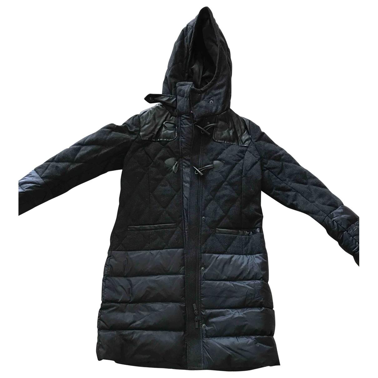 Comptoir Des Cotonniers \N Anthracite Wool coat for Women 34 FR