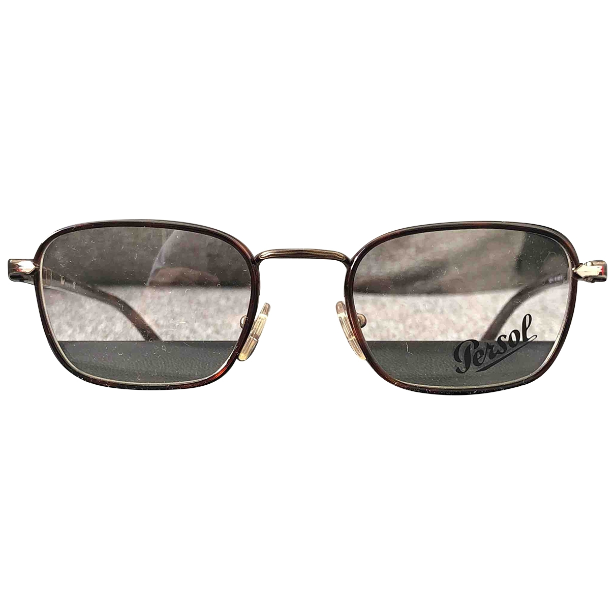 Persol \N Sonnenbrillen in  Braun Metall