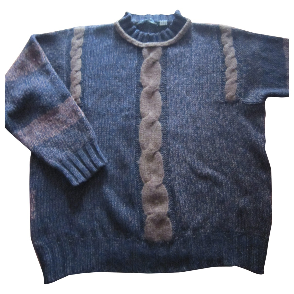 Non Signé / Unsigned \N Brown Wool Knitwear & Sweatshirts for Men 48 IT