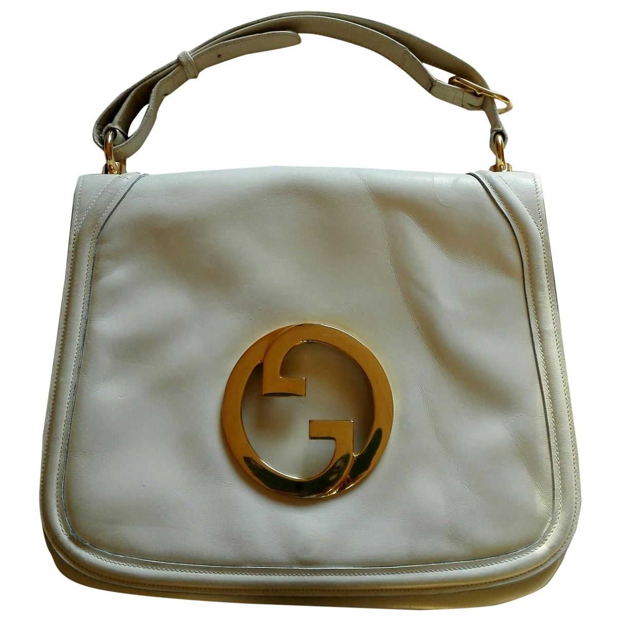 Gucci 1973 White Leather handbag for Women \N