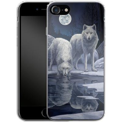 Apple iPhone 8 Silikon Handyhuelle - Warriors of Winter von Lisa Parker